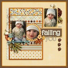 Discover fresh, modern products and page ideas for scrapbooking autumn.