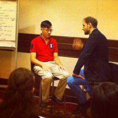 Day 5: Sneak Peek behind-the-scenes at the Conversational Hypnosis Professional Hypnotherapy Training event in Singapore. HTA Contributor @leemcking deep in trance during this demonstration by #KarstenKüstner of a Therapeutic Regression. Fascinating!  #hypnosis #hypnotherapy #LiveEvent #Singapore