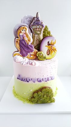 Cake Cookies, Cupcake Cakes, Cupcakes, Crisco Recipes, Character Cakes, Bakery Cakes, Girl Cakes, Baby Shower Cakes, Rapunzel