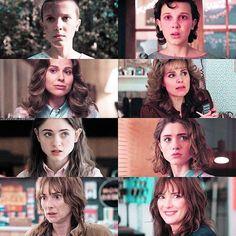 Season 1 to Season 2 Stranger Things Have Happened, Cast Stranger Things, Fandoms Unite, New Shows, Visual Arts, Pretty Cool, Season 1, Cos, Boyfriends