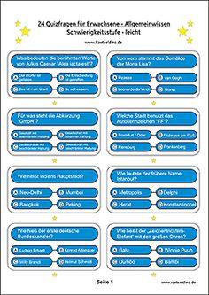Schwere quizfragen mit antworten zum ausdrucken for Koch quiz mit antworten