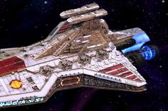The Venator-class Star Destroyer , was one of the capital ships used extensively by the Galactic Republic during the later parts of the Clo...