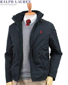 USラルフローレン、フリースライナーの暖かいスイングトップ型ジャケット。Ralph Lauren Men's Perry Windbreaker (BLACK) US ポロ ラルフローレン フリースライナー ウインドブレーカー ジャケット (UPS) 売れ筋