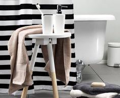 Kauniit suihkuverhot ja kylpyhuoneen sisustus JYSKistä