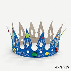 Design Your Own Crowns - for Brave Merida party (or king, queen, princess party)