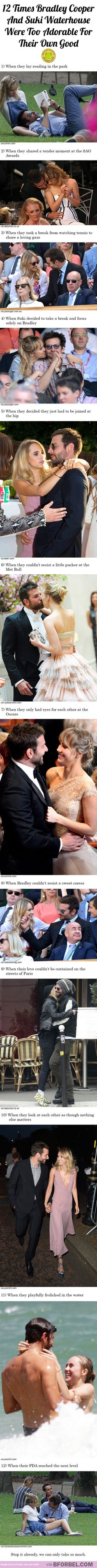 12 Times Bradley Cooper And Suki Waterhouse Were Too Adorable For Their Own Good…