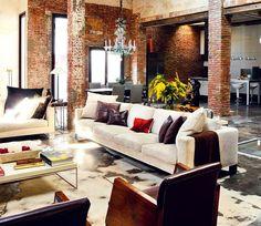 нью йоркский стиль в интерьере - Поиск в Google
