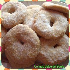 Lo más dulce de Sonia: Roscos hojaldrados de anís al horno