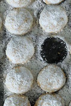 Polvorones -- Puerto Rican Almond Shortbread Cookies from alwaysorderdessert.com