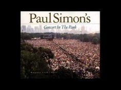 The Sound Of Silence...... Concert in the park (Paul Simon)