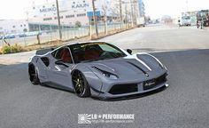 Liberty Walk Gives Ferrari 488 More Stance At Tokyo Salon