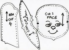 Soggibottom: Free Rag Doll Pattern from