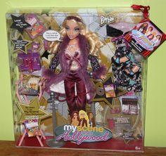 New My Scene Barbie Goes Hollywood Doll NRFB #Mattel