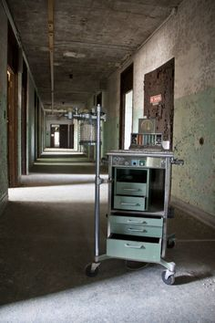 The abandoned Central State Hospital (formerly known as Georgia State Lunatic, Idiot and Epileptic Asylum, Georgia State Sanitarium and Midgeville State Hospital)