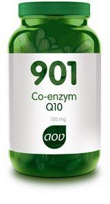 AOV Voedingssupplementen 901 Co-enzym Q10 60 vegicaps - Co enzym Q10 120 mg is een hoog gedoseerde, gemakkelijk opneembare co-enzym Q10 formule. De Q10 is in droge vorm, zodat het product aangeboden kan worden in vegetarische capsules. In verband met de in december 2012 ingevoerde Europese wetgeving, mogen wij helaas niet meer aangeven wat voor eigenschappen dit product heeft of waarvoor mensen het zoal gebruiken. Heeft u vragen over dit product? Neem dan contact op met onze klantenservice.