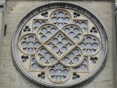 SwissMedievalHistory - Lausanne Cathedral - Rose Window