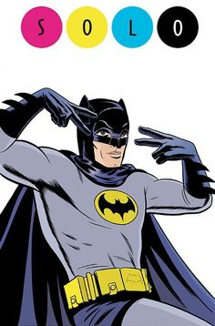 BATMAN - New 1966 'Batman' Comic By Jeff Parker, Jonathan Case and Michael Allred