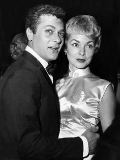 1925-2010 -- Bernie Schwartz grew up to become Tony Curtis, a chiseled Hollywood hunk who lived the good life. Hollywood legend Tony Curtis became best known for his role in 'Some Like It Hot' and for being the father of Jamie Lee Curtis and the ex-husband of 'Psycho' star Janet Leigh.