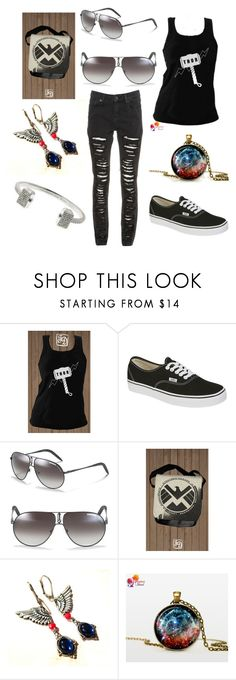 """Thor"" by jess122512 ❤ liked on Polyvore featuring Vans and Carrera"