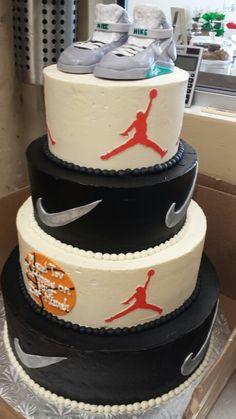 Nike cake