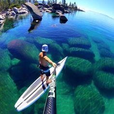 (TahoeJacks.com)  Lake Tahoe life is good! (Photo @i_ladykiller_520)  Follow @tahoejacks for more Lake Tahoe photos & adventures!