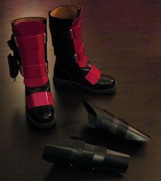 Deadpool Armour by BionicConcepts on Etsy Deadpool Cosplay, Deadpool Mask, Boy Halloween Costumes, Family Costumes, Cosplay Costumes, Wade Wilson, Body Armor, Best Cosplay, Cool Items