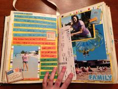 Senior Year Scrapbook!! I am so doing this!!!!