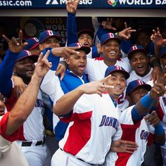 The Dominican Republic (featuring #Mariners Robinson Cano, Fernando Rodney and Nelson Cruz) went undefeated on their way to the 2013 World Baseball Classic title. #ThrowbackThursday