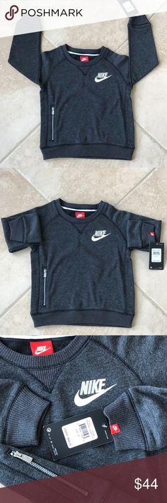 Nike children sweatshirt Adorable Nike sweatshirt size 4T brand new with tag Nike Shirts & Tops Sweatshirts & Hoodies