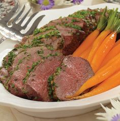 Serve this Bistro Beef Tenderloin for a holiday dinner with simple ...
