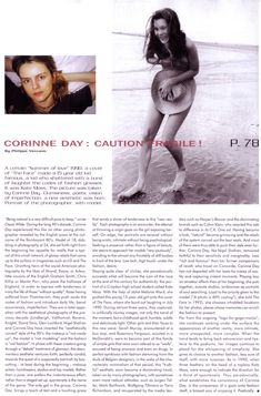 Corinne Day: Caution Fragile! | Mixt(e) Magazine, 01-06-2000 — Corinne Day Photographer