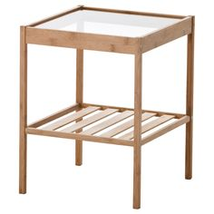 Would be great next to chair in Baby room, would have to paint it another color. NESNA Nightstand - IKEA ONLY $14.99