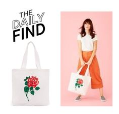 """The Daily Find: Ban.do Tote"" by polyvore-editorial ❤ liked on Polyvore featuring DailyFind"