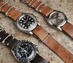 B&S Signature leather nato straps in 20 mm. All handmade with special limited square buckles. Bulang & Sons, fine watches and collecting lifestyle. Watch straps and watch essentials for Rolex, Tudor, Omega, Heuer, Seiko and other watches.