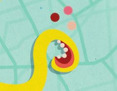 """Check out new work on my @Behance portfolio: """"Yellow octopus on the town"""" http://be.net/gallery/41118021/Yellow-octopus-on-the-town"""