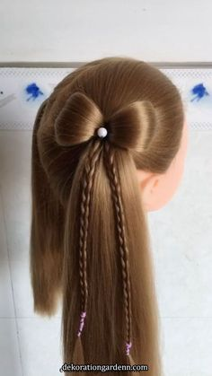 Cute Kids Styles Braid HairstylesFor More Videos And Tips Please - braided hairstyles videos braided hairstyles easy Brown Ombre Hair, Ombre Hair Color, Box Braids Hairstyles, Pretty Hairstyles, Hairstyles Videos, Kid Braid Styles, Little Girl Hairstyles, Teenage Hairstyles, Hair Videos