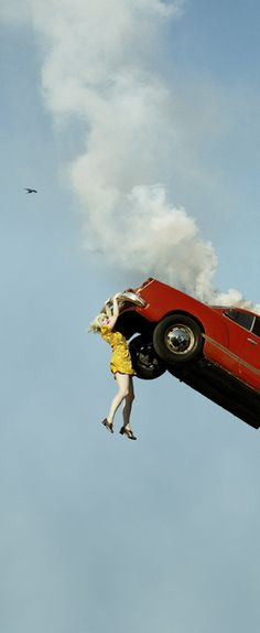 Alex Prager (b. 1979), 3:32pm, Coldwater Canyon, from the series Compulsion, 201.