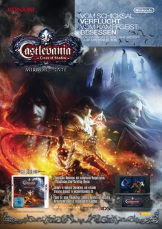 Advert . Castlevania Mirror of Fate . Nintendo 3DS