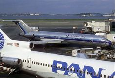 At Eastern and Pan Am, 727s became the workhorses of the Shuttle fleet.