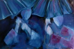 Rain, oil on canvas, 2012, 40 x 60 cm
