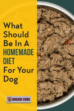 Dishing up healthy homemade dog food is easy and fun. No need for complicated recipes. DIY Home made maybe a better option. Here're some tips on what's a good formula for a homemade diet for your dog.