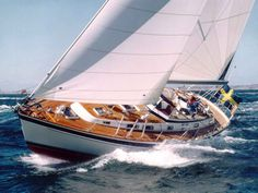 Hallberg-Rassy 42 Though Hallberg-Rassy is well-known for two 42-footers—one designed by Olle Enderlein in 1980, and a second by German Frers in 1991—for this round-up we're choosing the Enderlein version, which enjoyed an 11-year production run during which 255 hulls were built. Many of these HR 42s, which were available as sloops or ketches and featured clean, flush decks, were veterans of round-the-world voyages, and a used one in good shape is more than capable of another ...