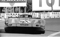 PORSCHE 917 917LH MARTINI RACING LE MANS 1971 VIC ELFORD LARROUSSE PHOTOGRAPH   eBay