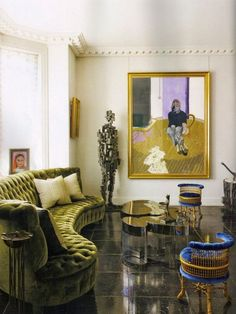 Jacques Grange, living room , luxury interior design, for more ideas and… Home Living, My Living Room, Living Room Decor, Living Spaces, 1930s Living Room, Decoration Inspiration, Room Inspiration, Interior Inspiration, Inspiration Design
