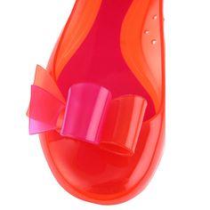 Furla Candy Flats: резиновые балетки Furla. Цветные вещи. Лето-2011