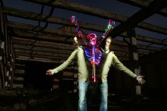 Light Painting Artist Janne Parviainen | Light Painting Photography