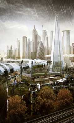 The Developing City | London 2050