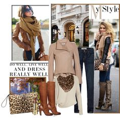 Street Style: Scarves & Jackets