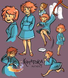 Kumatora - Mother 3 by lauramw on DeviantArt