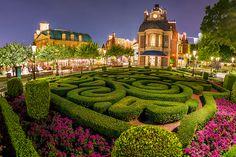 Disney Parks After Dark: France Pavilion in Epcot